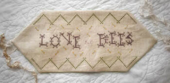 Love the Bees - Cross Stitch Pattern