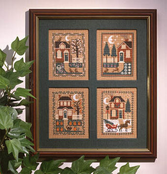 Four Seasons - Cross Stitch Pattern