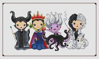 Les Princesses du Mai - Cross Stitch Pattern