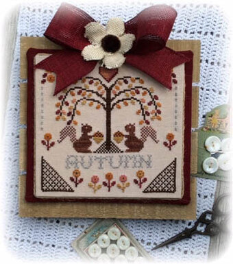 Sheltering Tree - Autumn - Cross Stitch Pattern