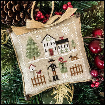 Farm Folk - Farmhouse Christmas 8 - Cross Stitch Pattern