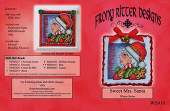 Sweet Mrs Santa - Cross Stitch Pattern