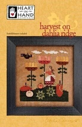 Harvest on Dahlia Ridge - Cross Stitch Pattern