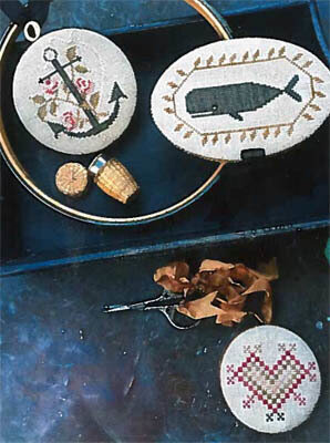Nantucket Sewing Set - Cross Stitch Pattern
