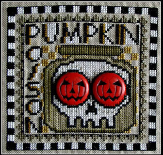 Pumpkin Poison - Wordplay - Cross Stitch Pattern