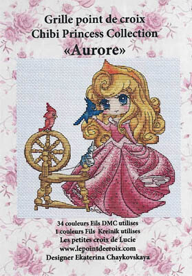 Aurore - Cross Stitch Pattern