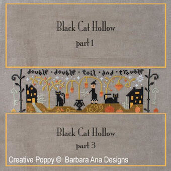 Black Cat Hollow Part Two - Cross Stitch Pattern
