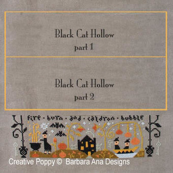 Black Cat Hollow Part Three - Cross Stitch Pattern