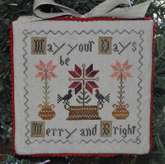 Merry and Bright - Cross Stitch Pattern