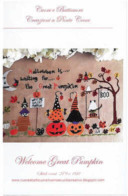 Welcome Great Pumpkin - Cross Stitch Pattern
