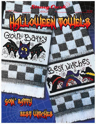 Halloween Towels - Cross Stitch Pattern