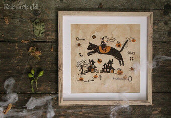 Black Cat - Cross Stitch Pattern