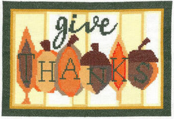 Autumn Thanks - Cross Stitch Pattern
