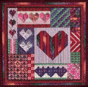 Holiday Delight's - Valentine's Day - Needlepoint Pattern
