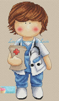 Allo Docteur - Cross Stitch Pattern