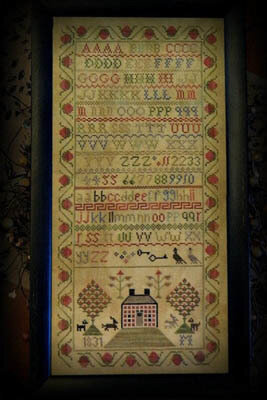 1831 Brick House - Cross Stitch Pattern