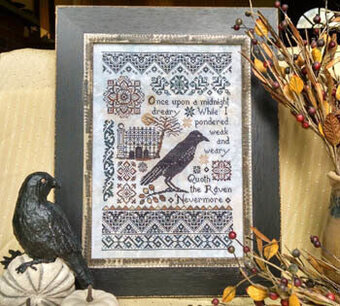 Nevermore - Cross Stitch Pattern