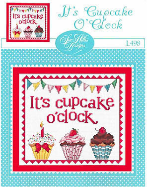 It's Cupcake O'Clock - Cross Stitch Pattern