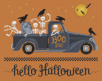 Hello Halloween - Cross Stitch Pattern