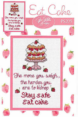 Eat Cake - Cross Stitch Pattern