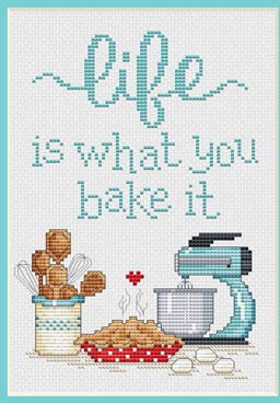 Life Is - Cross Stitch Pattern