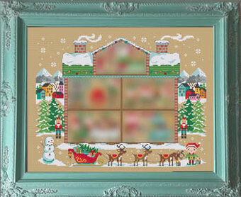 Santa's House Part One - Cross Stitch Pattern