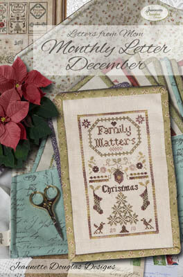 Letters From Mom 5 - December - Cross Stitch Pattern