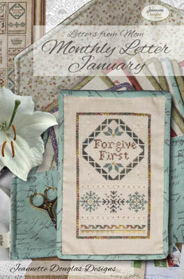 Letters From Mom Six - Cross Stitch Pattern