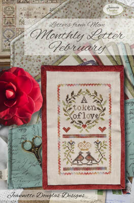 Letters From Mom  7 - February - Cross Stitch Pattern