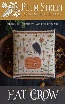 Eat Crow - Cross Stitch Pattern