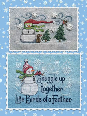 Frosty Friends - Cross Stitch Pattern