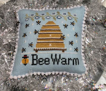 Bee Warm - Cross Stitch Pattern