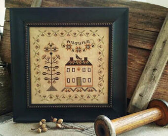 Sweet Autumn Vine - Cross Stitch Pattern