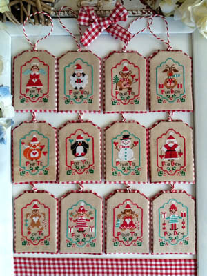 Regali Di Natale - Cross Stitch Pattern