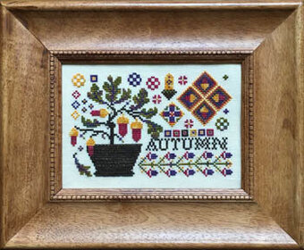 Autumn (with threads) - Cross Stitch Pattern