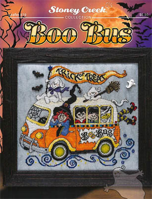 Boo Bus - Cross Stitch Pattern