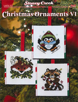 Christmas Ornaments VII - Cross Stitch Pattern