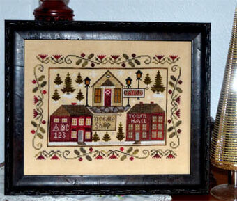 Hometown Christmas - Cross Stitch Pattern