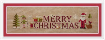 Simply Merry Christmas - Cross Stitch Pattern