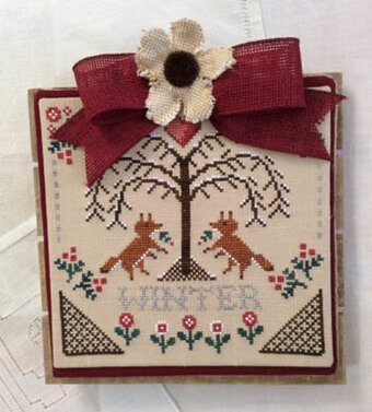 Sheltering Tree - Winter - Cross Stitch Pattern
