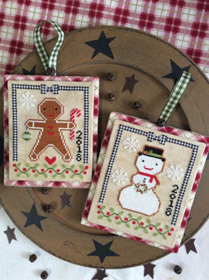 Christmas Cookies - Cross Stitch Pattern