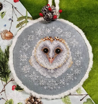Winter Snow Owl - Cross Stitch Pattern