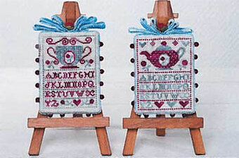 L'Heure De The - Cross Stitch Pattern