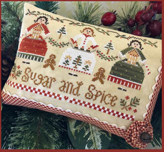 Sugar and Spice - Cross Stitch Pattern