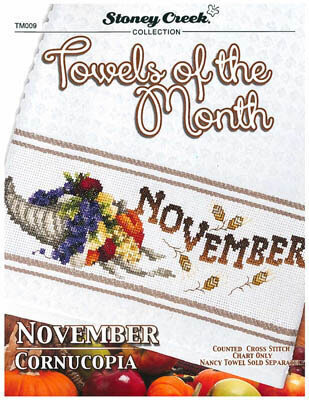Towels of the Month - November - Cross Stitch Pattern