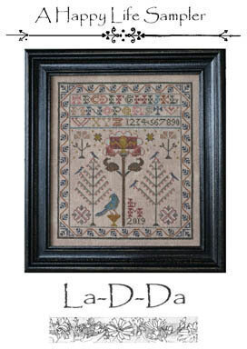 Happy Life - Cross Stitch Pattern