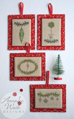 Little Christmas Ornaments - Cross Stitch Pattern
