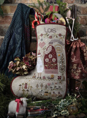 Lois' Stocking  - Cross Stitch Pattern
