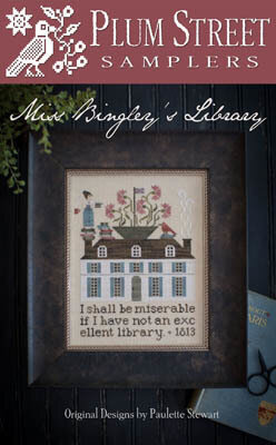Miss Bingley's Library - Cross Stitch Pattern
