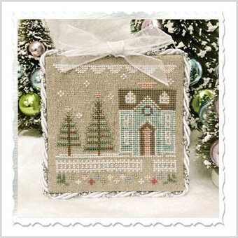 Glitter House 3 - Cross Stitch Pattern